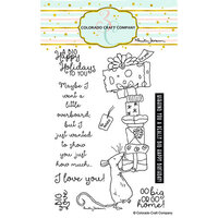 Colorado Craft Company - Clear Photopolymer Stamps - Big Love