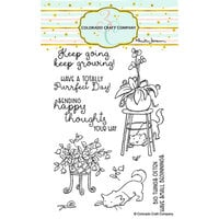 Colorado Craft Company - Clear Photopolymer Stamps - Keep Growing