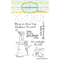 Colorado Craft Company - Clear Photopolymer Stamps - Flurries Of Fun