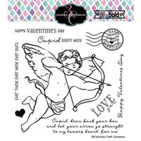 Colorado Craft Company - Big and Bold Collection - Clear Photopolymer Stamps - Cupid's Bow