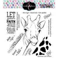 Colorado Craft Company - Big and Bold Collection - Clear Photopolymer Stamps - Stand Tall