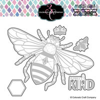 Colorado Craft Company - Big and Bold Collection - Dies - Honey Bee