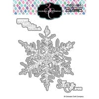 Colorado Craft Company - Big and Bold Collection - Dies - Winter Wishes Snowflake