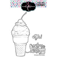 Colorado Craft Company - Big and Bold Collection - Dies - Sweetest Birthday Cone