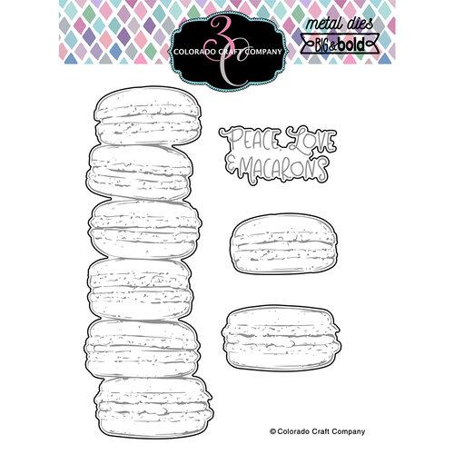 Colorado Craft Company - Big and Bold Collection - Dies - Slimline - Macarons