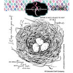 Colorado Craft Company - Big and Bold Collection - Clear Photopolymer Stamps - Nest