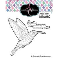 Colorado Craft Company - Big and Bold Collection - Dies - Hummingbird Enriched