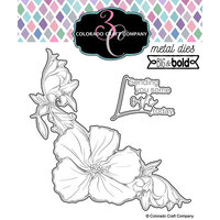 Colorado Craft Company - Big and Bold Collection - Dies - Hibiscus Love