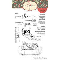 Colorado Craft Company - Lovely Legs Collection - Clear Photopolymer Stamps - Bible