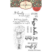Colorado Craft Company - Lovely Legs Collection - Clear Photopolymer Stamps - Sympathy