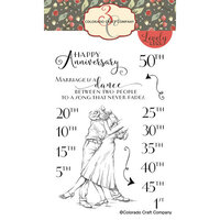 Colorado Craft Company - Lovely Legs Collection - Clear Photopolymer Stamps - Anniversary