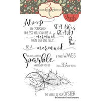 Colorado Craft Company - Lovely Legs Collection - Clear Photopolymer Stamps - Be a Mermaid
