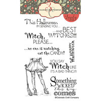 Colorado Craft Company - Lovely Legs Collection - Clear Photopolymer Stamps - Best Witches