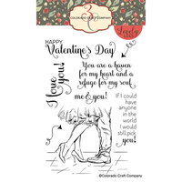 Colorado Craft Company - Lovely Legs Collection - Clear Photopolymer Stamps - Valentines Day