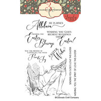 Colorado Craft Company - Lovely Legs Collection - Clear Photopolymer Stamps - Easter Blessings