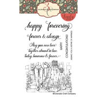 Colorado Craft Company - Lovely Legs Collection - Clear Photopolymer Stamps - Happy Forever