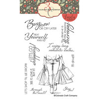 Colorado Craft Company - Lovely Legs Collection - Clear Photopolymer Stamps - Shopping Therapy