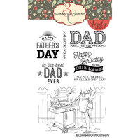 Colorado Craft Company - Lovely Legs Collection - Clear Photopolymer Stamps - Chillin' and Grillin'