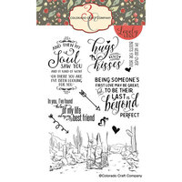 Colorado Craft Company - Lovely Legs Collection - Clear Photopolymer Stamps - Head Over Boots
