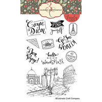 Colorado Craft Company - Lovely Legs Collection - Clear Photopolymer Stamps - Wanderlust