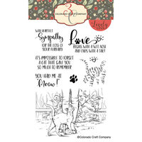 Colorado Craft Company - Lovely Legs Collection - Clear Photopolymer Stamps - Had Me At Meow