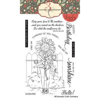 Colorado Craft Company - Lovely Legs Collection - Clear Photopolymer Stamps - Summer Season - Sunflowers