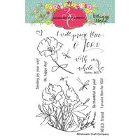 Colorado Craft Company - Whimsy World Collection - Clear Photopolymer Stamps - My Whole Heart