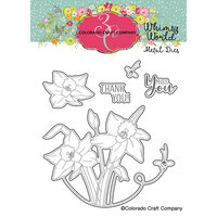 Colorado Craft Company - Whimsy World Collection - Dies - Lift My Eyes Daffodils
