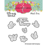 Colorado Craft Company - Whimsy World Collection - Dies - Rose Cross