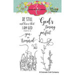 Colorado Craft Company - Whimsy World Collection - Clear Photopolymer Stamps - Be Still Bookmarks