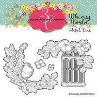 Colorado Craft Company - Whimsy World Collection - Dies - Life Lasts