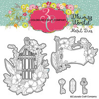 Colorado Craft Company - Whimsy World Collection - Dies - Be Free