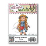 CC Designs - Cling Mounted Rubber Stamps - Sugar 'n Spice Dolls Thyme