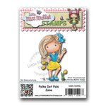 CC Designs - Cling Mounted Rubber Stamps - Polka Dot Pals Jane