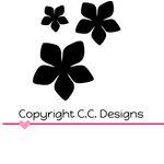 CC Designs - Cutter Dies - Phlox Flowers