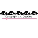 CC Designs - Cutter Dies - Mushroom Border