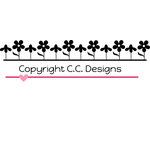 CC Designs - Cutter Dies - Flower Border