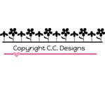 CC Designs - Cutter Dies - Flower Border