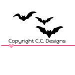 CC Designs - Cutter Dies - Bats