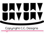 CC Designs - Cutter Dies - Mini Banners