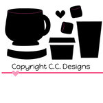 CC Designs - Cutter Dies - Coffee and Cocoa Set