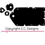 CC Designs - Cutter Dies - Grunge Tag