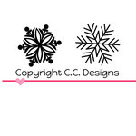 CC Designs - Cutter Dies - Its Snowing