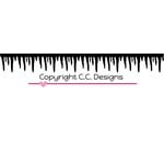 CC Designs - Cutter Dies - Icicle Border