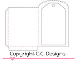 CC Designs - Cutter Dies - Baggie and Tag
