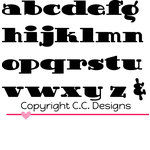 CC Designs - Cutter Dies - Doodledoo Lowercase