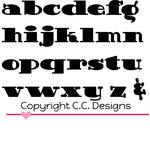 CC Designs - Cutter Dies - Doodledoo Lowercase