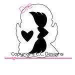 CC Designs - Cutter Dies - Angel Wings Outline