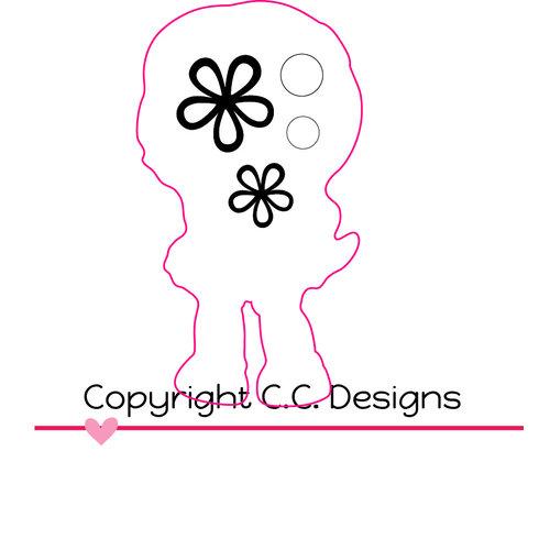 CC Designs - Cutter Dies - Goldie Outline