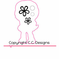 CC Designs - Cutter Dies - Goldie Outline